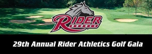 29th Annual Rider Athletics Golf Gala Banner